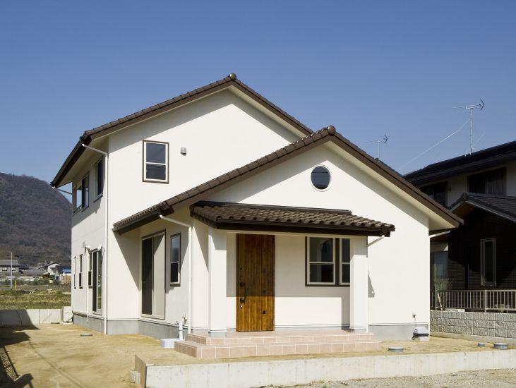 南欧風の家