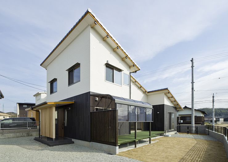 掘り炬燵の家