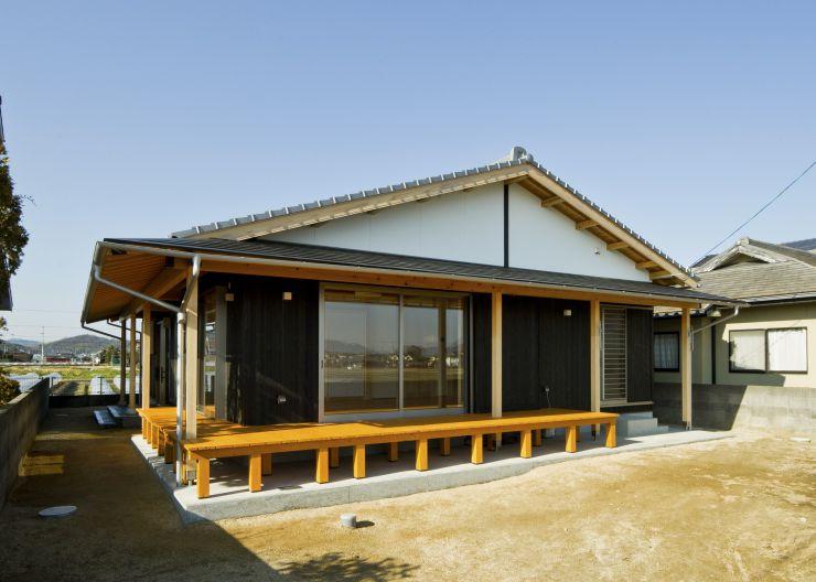 飯野山が見える家
